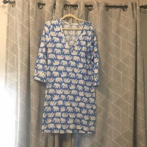 Lilly Pulitzer T-shirt dress tusk in the sun print